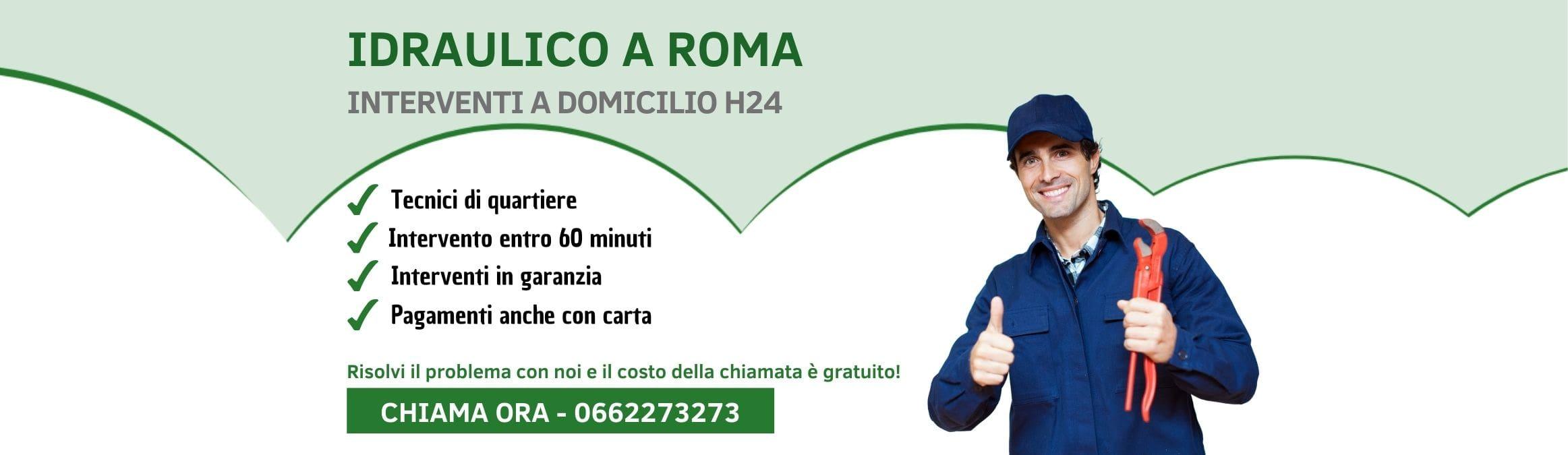Idraulico Roma - Pronto Intervento h24